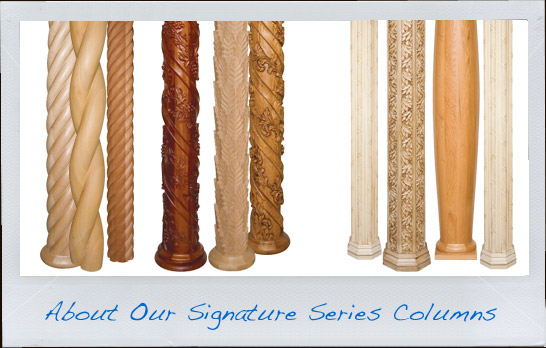 About Signature Series Wood Columns